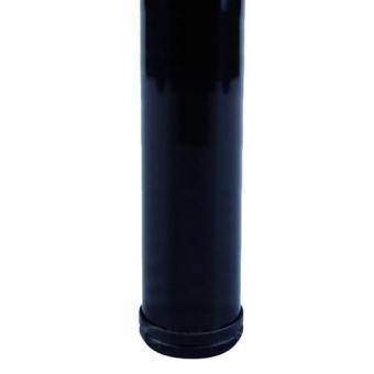 Asztalláb 82cm fekete