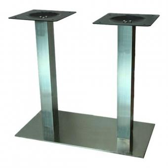 Asztalláb központi Strong 800x450 nemesacél