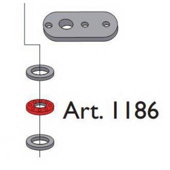 Beltéri ajtóvasalat harmonika ajtóhoz alsó horgony pánthoz ellendarab Art.1186