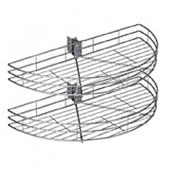 Drót kifordítható kosár 1/2 800-tól korpuszhoz rúd nélküli