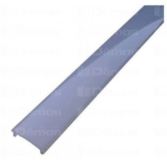 LED alu profíl SAL takaró bepattintós 2m átlátszó