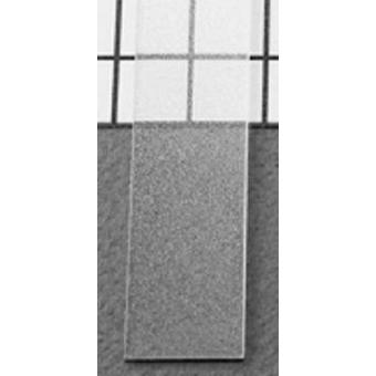 LED alu profíl takaró befűzős átlátszó 2m