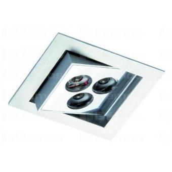 LED spotlámpa STRING S 3W/n350mA / meleg fehér / szatén nikkel