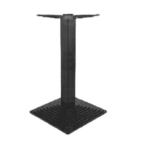 Asztalláb központi BM 033/450x450 fekete 71cm