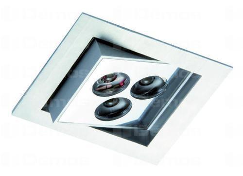 LED spotlámpa STRING S 3W/n350mA / hideg fehér / króm