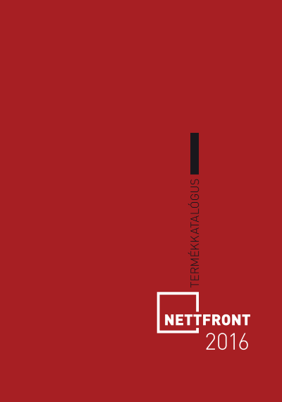 Nettfront katalógus - 2016